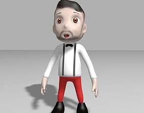 3D model Hipster toon