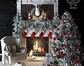 firewood AVE Christmas set 3dsmax