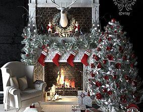 3D AVE Christmas set