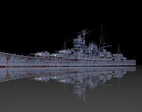 IJN Mogami 3D model VR / AR ready