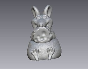 cute decorative mouse 3D print model