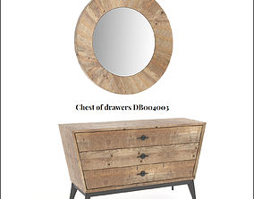 3D asset Dialma Brown mirror and chest