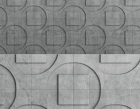 DECORATIVE 3D PANEL TECHNO low poly 3d low-poly