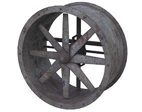 Axial Flow Fan 1 Old 3D model
