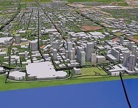 Denver City 3D model