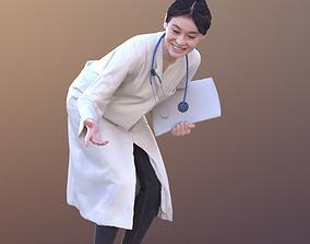 3D model Francine 10369 - Talking Asian Doctor