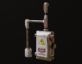 Electrical Switch Box 3D asset