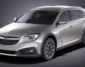 3D Opel Insignia Country Tourer 2015 VRAY