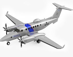 3D Beechcraft Super King Air 350CER