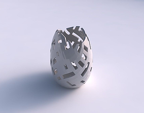 3D printable model Bowl compressed with cuts