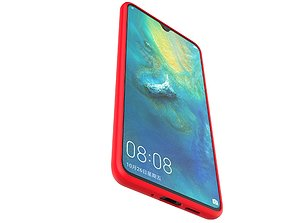 HUAWEI MATE20 red case customizable design 3D print model