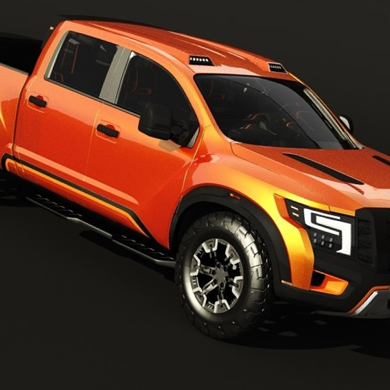 Nissan Titan Warrior 3D Models
