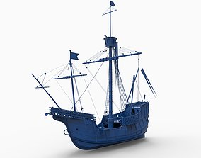 old ship mod14 3D print model