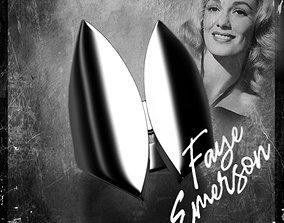 Noir stars Faye Emerson 3D print model