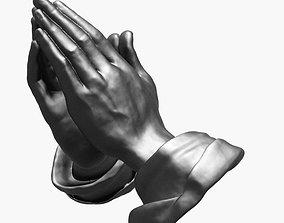 3D Praying hands