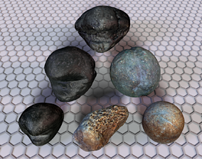 3D model Museum Items