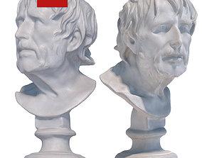 3D asset Sculpture of Seneca 122