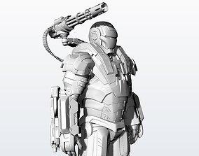 3D print model Statue War Machine Very High quality