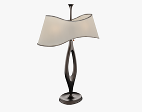 Bedroom Long Lamp 3D