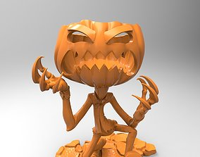 Halloween Pumpkin 3D printable model pumpkin