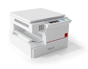 Copy Printing Machine 3D model