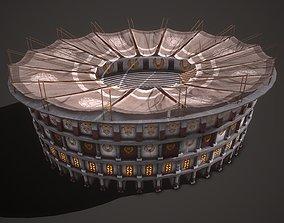 3D asset Colosseum 02