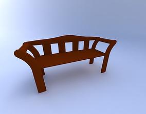 3D Bench chair