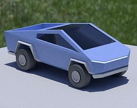 Cybertruck Toy 3D model VR / AR ready