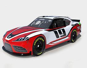 3D asset Toyota Supra 2019 Nascar
