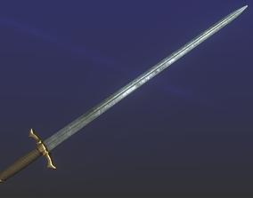 3D asset game-ready Epic Sword
