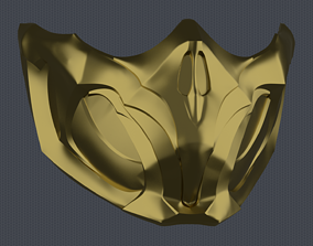 3D printable model MK11 Scorpion Mask V1 - STL File