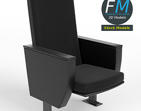 Cinema theater armchair 2 3D