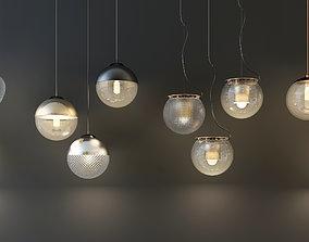 droplight lamp 3D asset