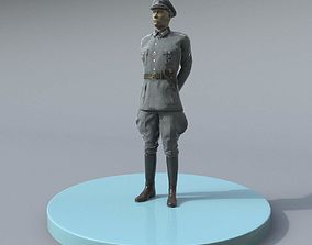German WW2 Officer 3D model