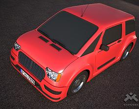 3D Generic City Car