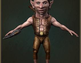 3D asset Gnome Worker