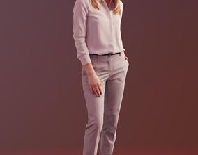 3D model Ramona 10039 - Business Standing Woman