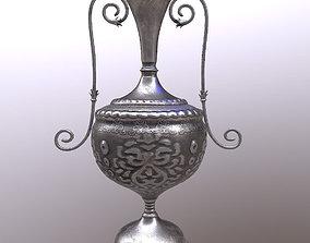 Silver Amphora 3D model