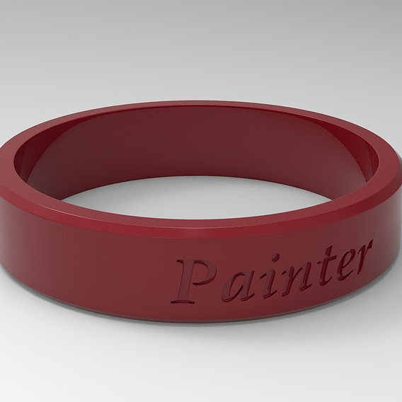 Painter Ring Red