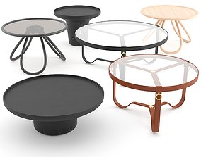 Coffee Tables Collection 3D