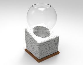 3D printable model Whisky Glass with Cooling Stone and
