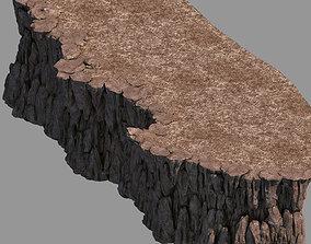 Hongri Taoist Temple-Dark Terrain 01 3D model