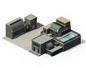 Future World - Black Market 01 3D model