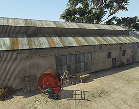 Shed From Gta 5 with Texture 3D model