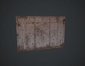 3D asset Old Shot Gates