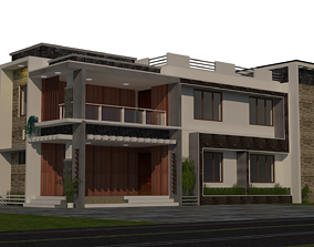 architecture 3D CONTEMPORARY HOUSE