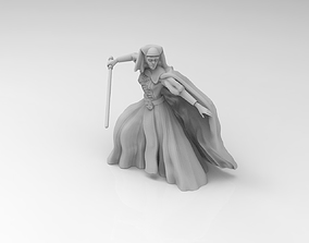 3D printable model Female Mystical Knight