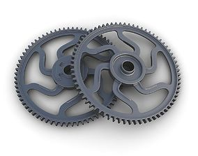 3D Steampunk Gear 15