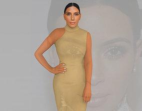 Kim Kardashian ready for full color 3D