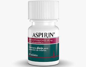3D Aspirin Bottle